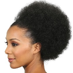 Top Afro Bun PonyTail - Large